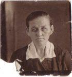 Анастасия Трофимовна Шрамко (Колосовська) 1913 г.р. Фото 1930-х.