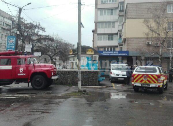 В здании граната: работу бердянской поликлиники парализовало страшное сообщение (ФОТО)