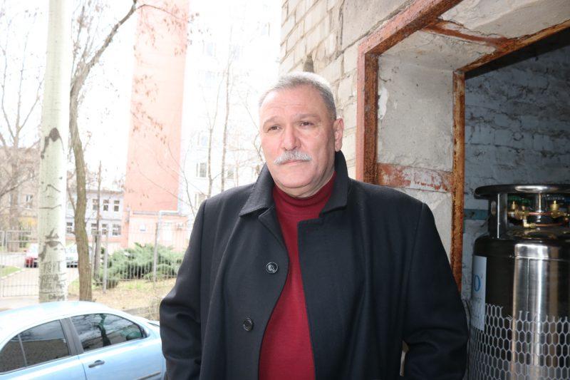 Головний лікар міської лікарні № 2 Едуард Горбатенко