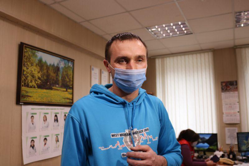 зварювальник ремонтного цеху комбінату «Запоріжсталь» Євген Лелекін