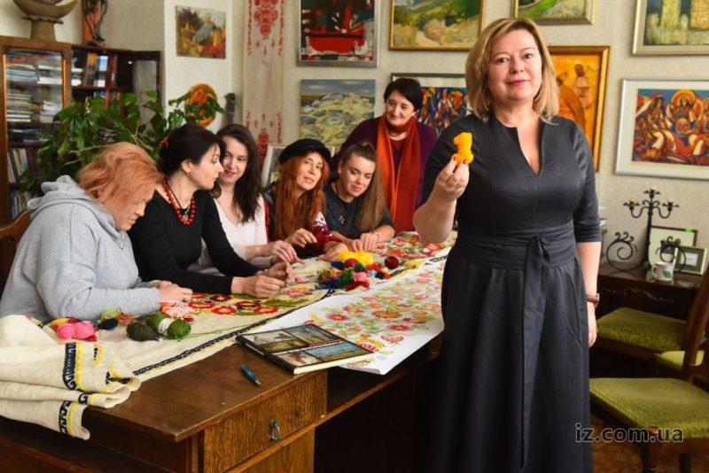 рушник к юбилею Леси Украинки