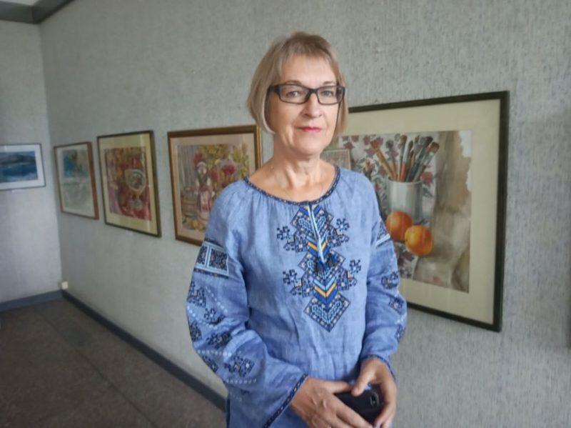 Художница Ирина Гресик - о Хортице