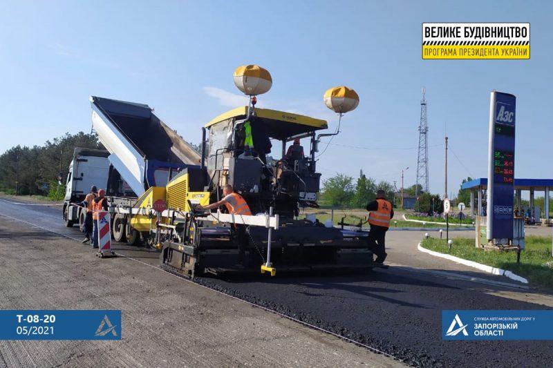 Работы по текущему ремонту на дороге к Кирилловке хотят завершить как можно скорее