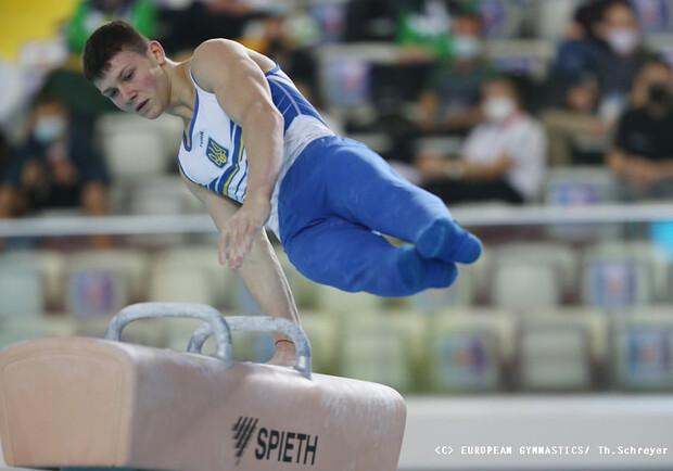 """Украинские гимнасты завоевали два """"золота"""" на Кубке мира. Фото: twitter.com/OlympicUA"""