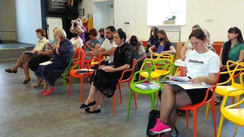 В Запорожье обсудили, как представителям разных национальностейсохранить свою идентичность
