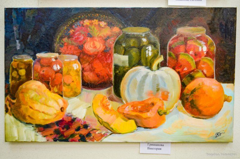 Запорожские художники показали яркие натюрморты - фото