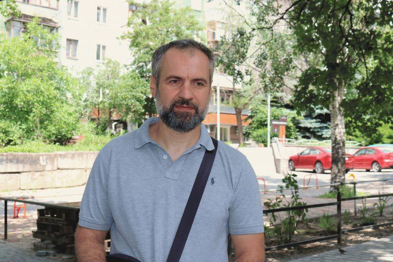 голова ОСББ «Запоріжжя. Гагаріна, 10» Максим Охотін