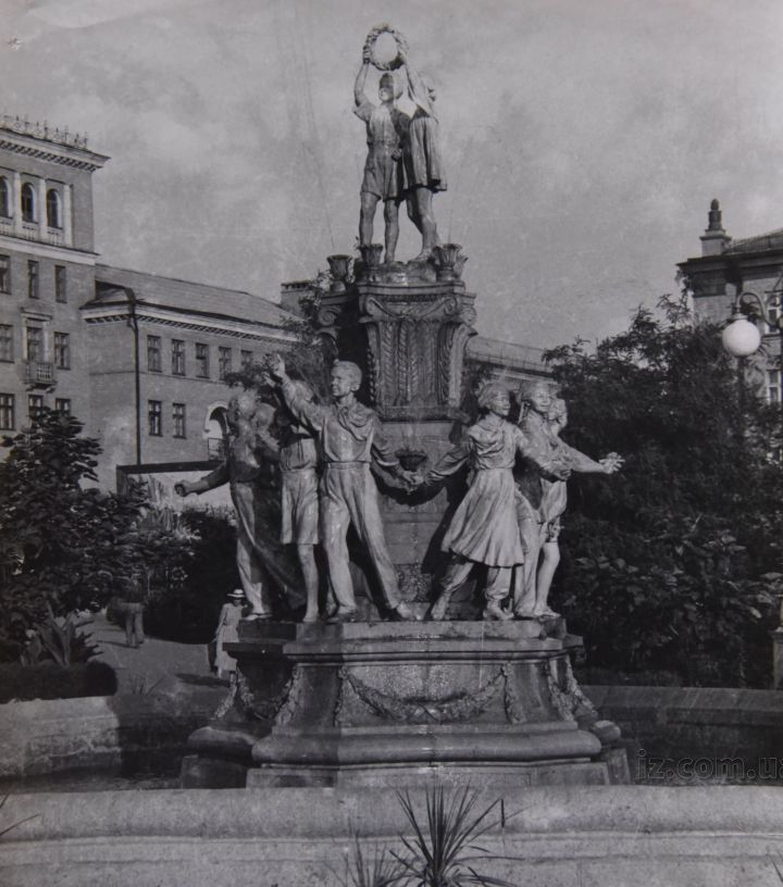 фонтан ретро