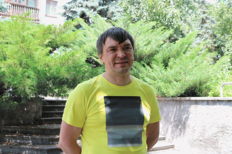 """керівник громадської спілки """"Зеленого центру Метінвест"""" Олександр Балаба"""