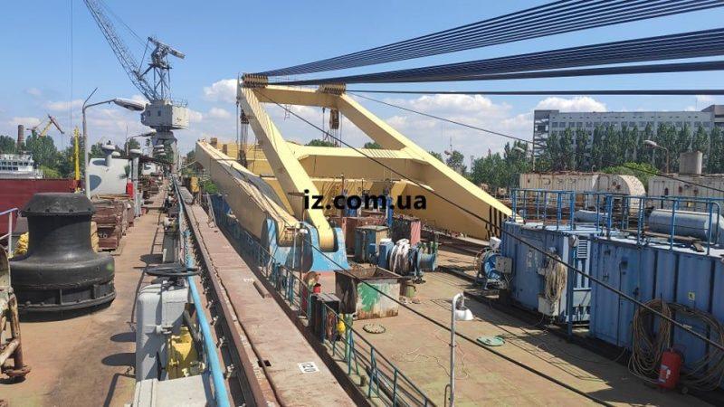 Сегодня Zakhariy должны спустить на воду в Херсонском судно-ремонтном заводе