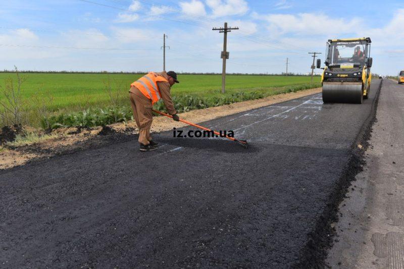 дорога на Кирилловку