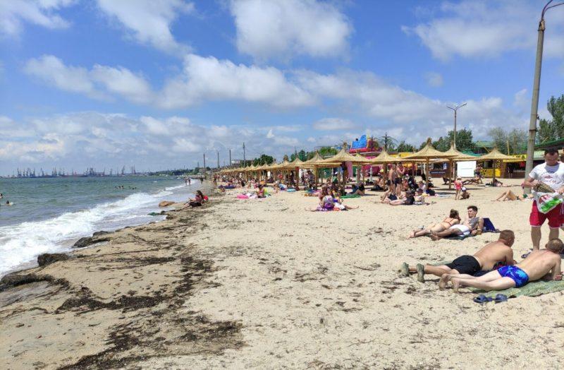 В Бердянске пляжи к приему отдыхающих еще не готовы