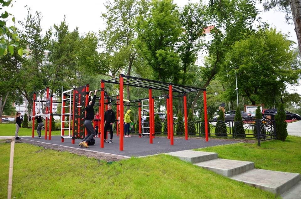 Президент започаткував соцпроект «Активні парки – локації здорової України» - FIZO