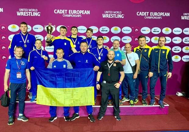 Украинские юниоры добыли медали на чемпионате Европы по греко-римской борьбе. Фото: borba.com.ua