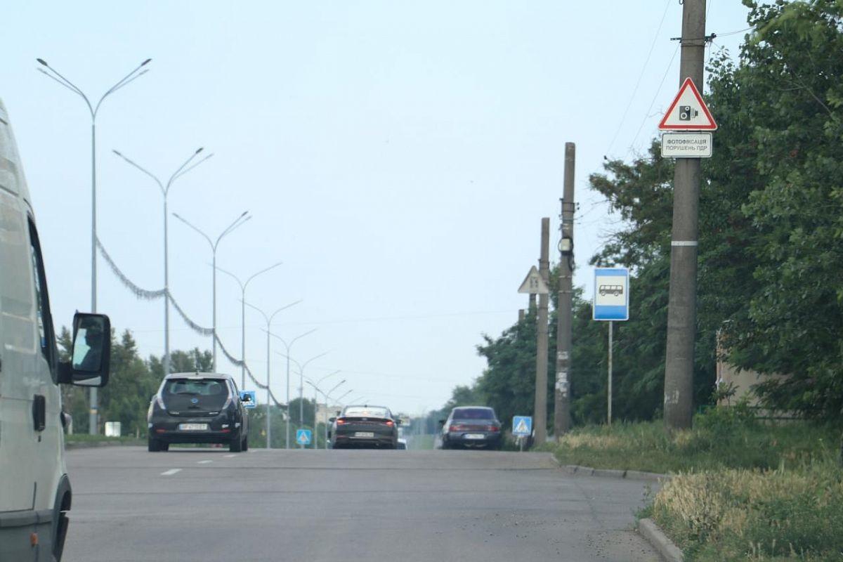 На запорожском курорте появится камера для фиксации нарушений ПДД: подробности