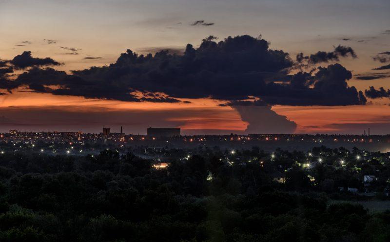 закат на Вырве