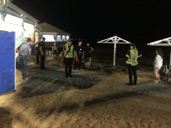 В Бердянске во время ночного купания утонула женщина (ФОТО)