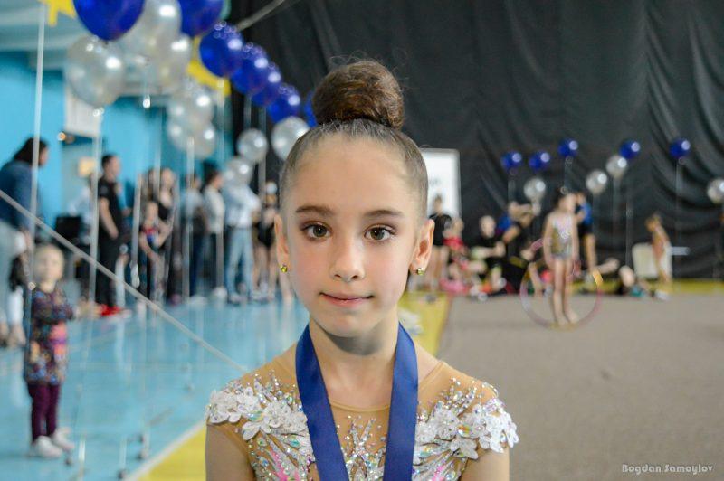 В Запоріжжі відбувся турнір з художньої гімнастики