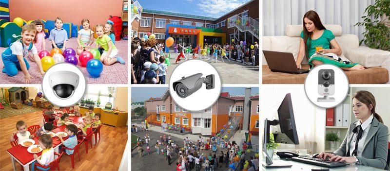 Камеры видеонаблюдения предлагают установить в школах и детских садах