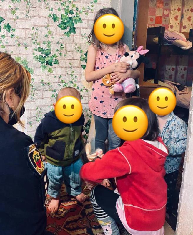 полиция забрала детей