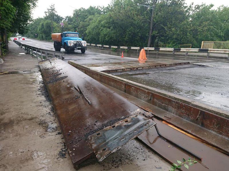 ремонт на мосту