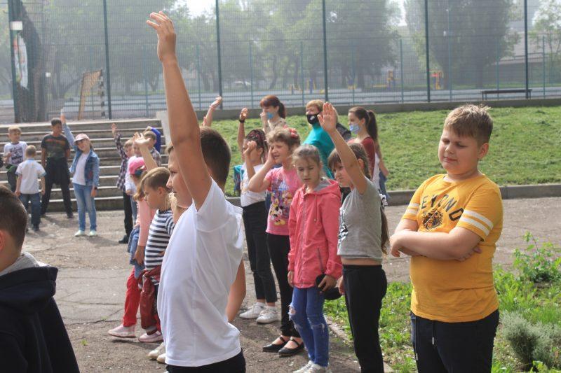 В Запорожье работают пришкольные лагеря