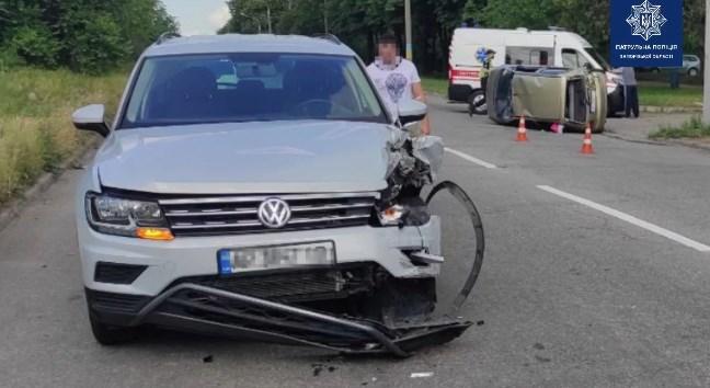 авария в Запорожье
