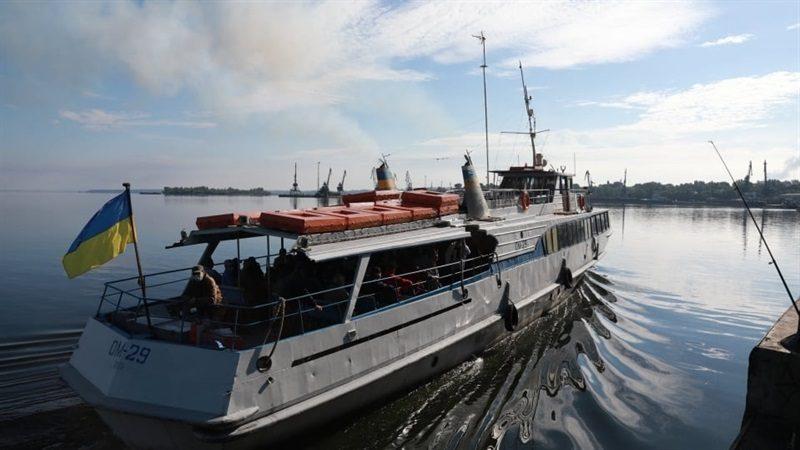 В Запорожье стартовала дачная навигация - расписание