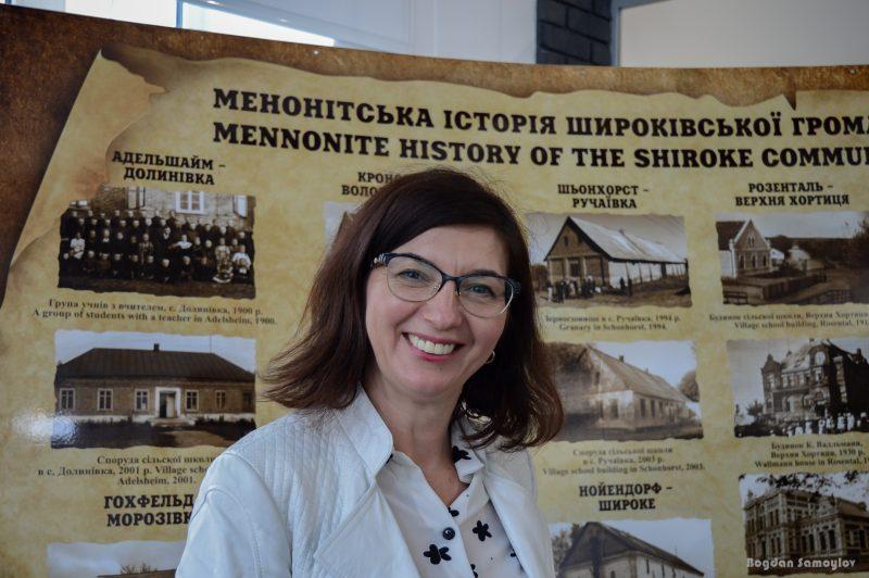 заместитель главы Широковской громады Ольга Ставицкая