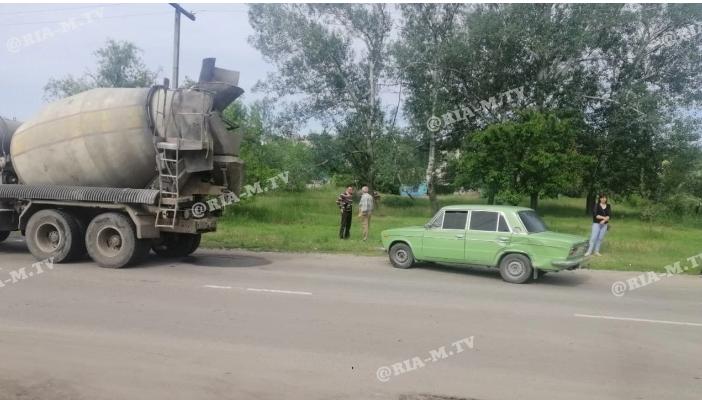 В Запорожской области обгон закончился тройным ДТП (ФОТОФАКТ)