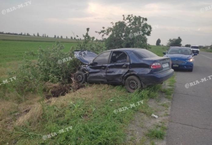 В Запорожской области произошло тройное ДТП: виновник пытался сбежать (ФОТО)