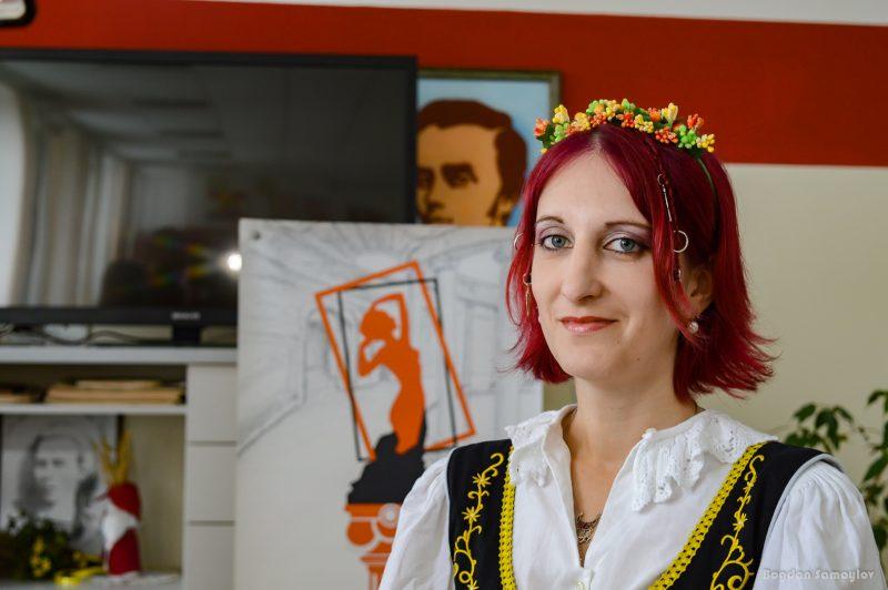 """писательница, соосновательница и драматург """"Театра-студии """"Пигмалион"""" Анна Кулькова"""