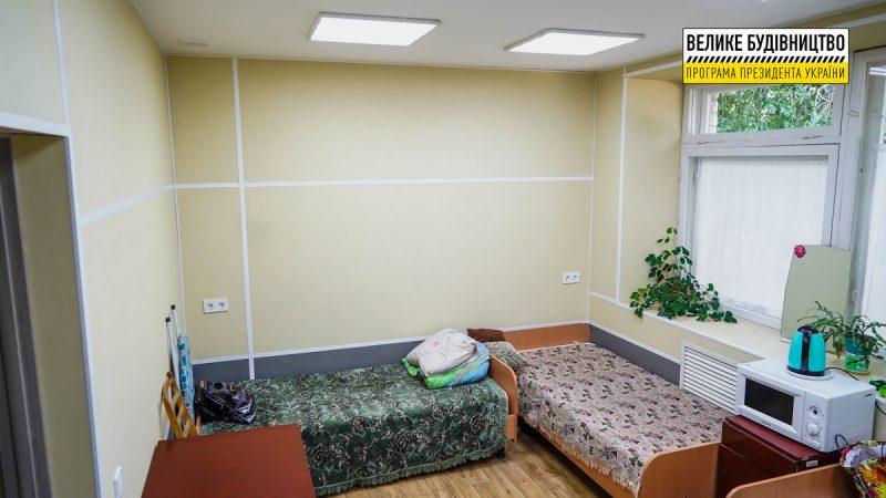 Капитальный ремонт первого этажа приемно-диагностического отделения в Энергодаре почти завершен