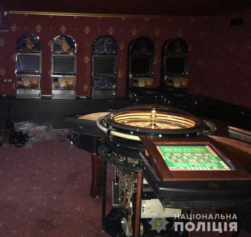 В Мелитополе полицейские пресекли работу подпольного казино