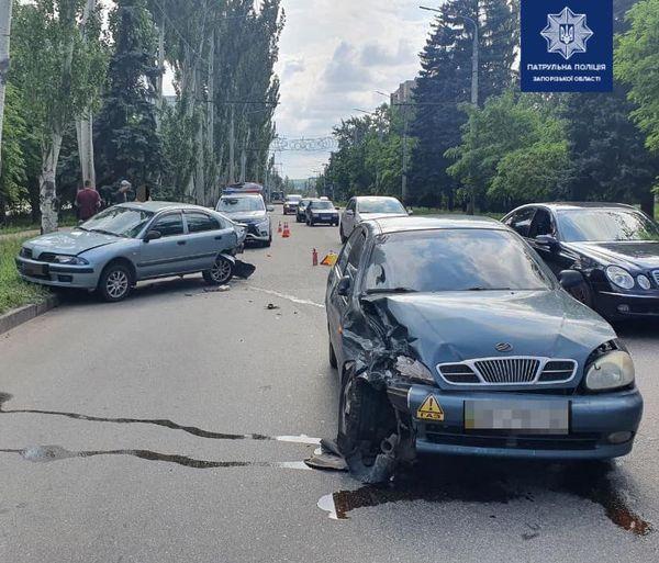авария в Днепровском районе