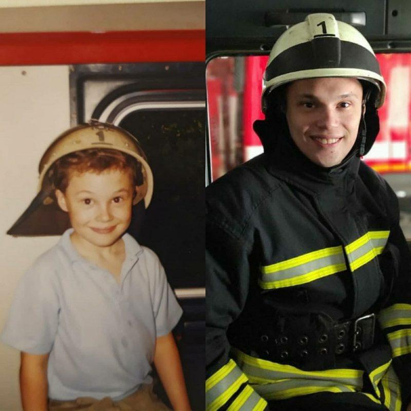В Запорожье во время ликвидации пожара в многоэтажке пострадал спасатель