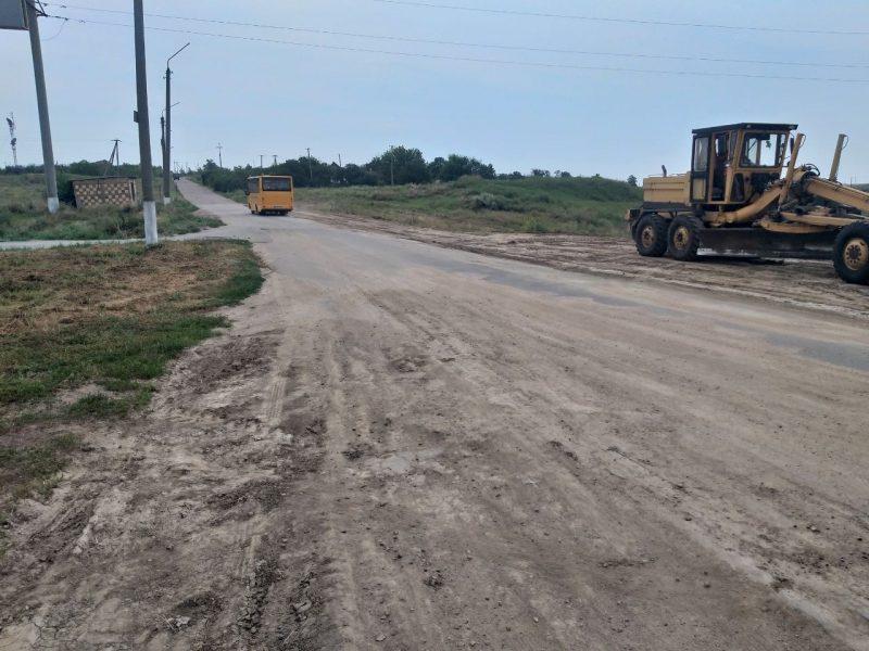 ремонтируют местные дороги