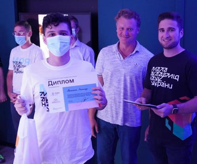 Мелитопольский школьник поедет на Международную олимпиаду в ОАЭ (ФОТО)