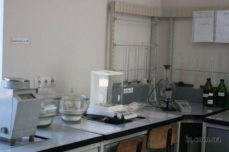 вода лаборатория