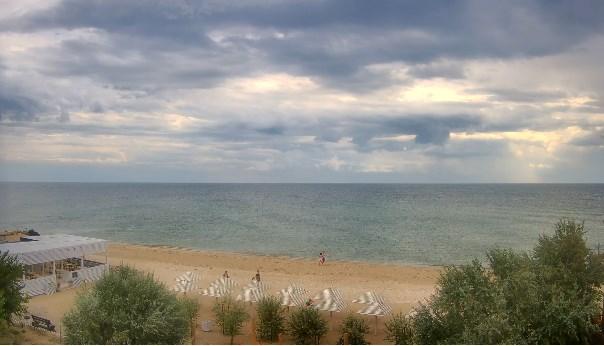 пляжи на Азовском побережье