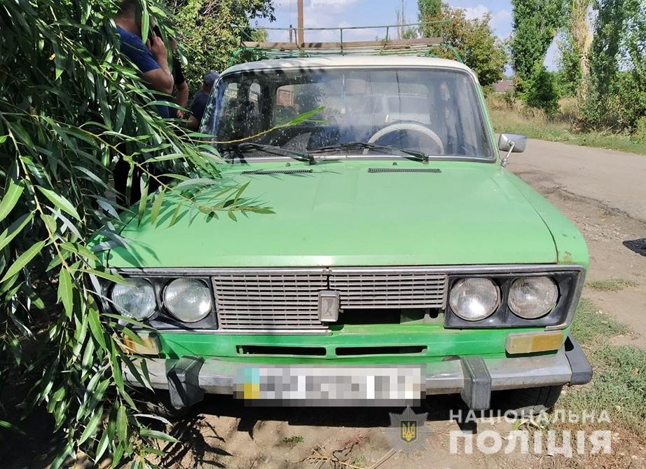 В полиции рассказали подробности угона легковушки в Запорожье