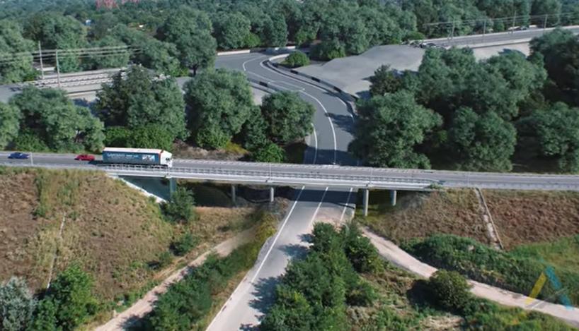 В сети показали, что будет построено на насыпи со стороны Набережной в Запорожье (ВИДЕО)