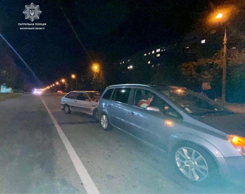 Пьяный водитель пытался скрыться с мест ДТП
