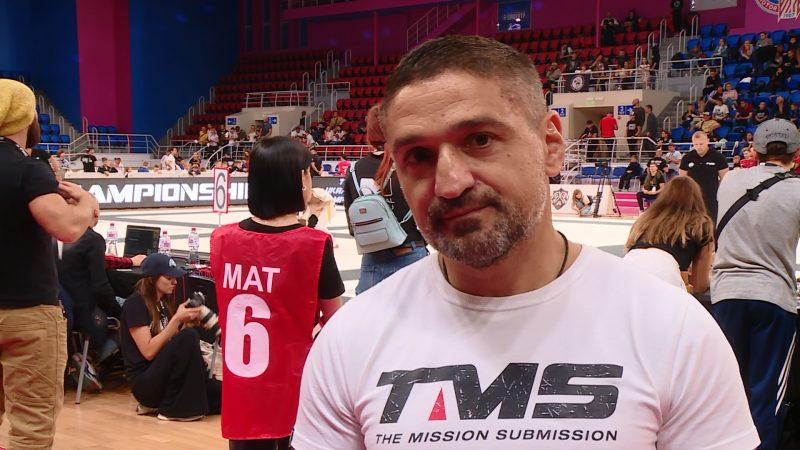 вице-президент лиги TMS по бразильскому джиу-джитсу Сергей Погосян