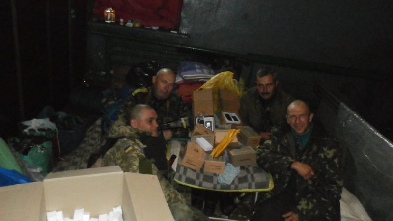 Сиривля Сергей с бойцами