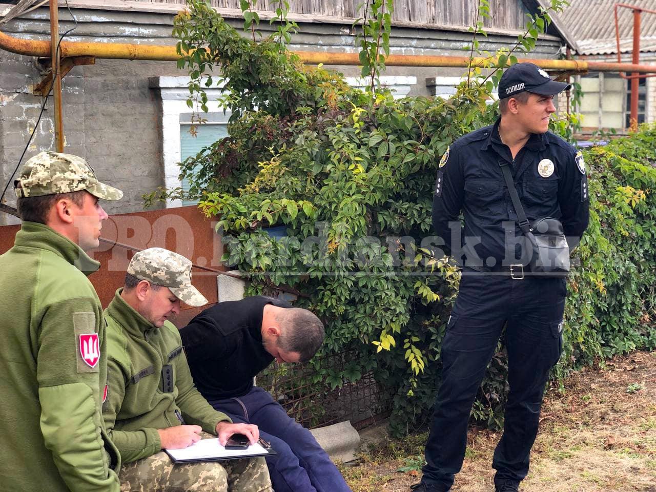 В Бердянске задержали пьяного военного, которого подозревают в совершении ДТП и хранении наркотиков