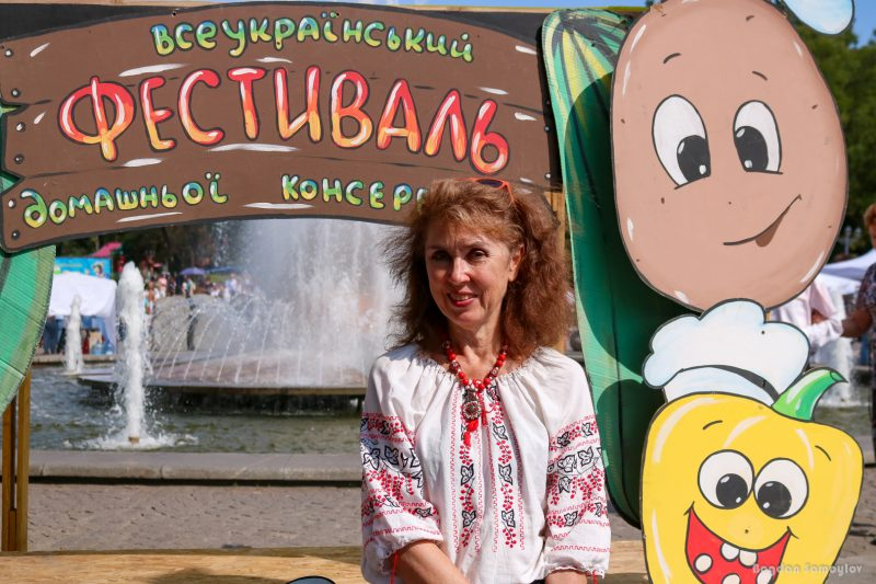 автор идеи и президент Всеукраинского фестиваля домашней консервации, председатель общественной организации «Запорізький Колорит» Наталья Бабенко