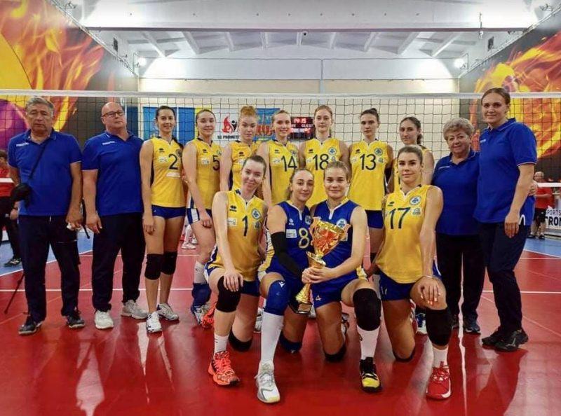 волейбольная команда «Орбита»