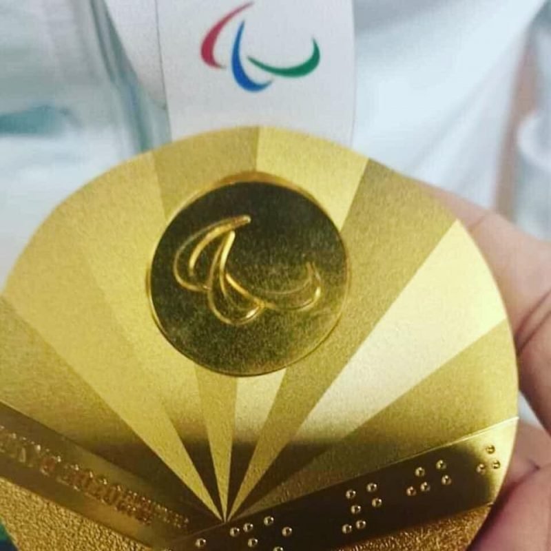 Паралимпиада медаль