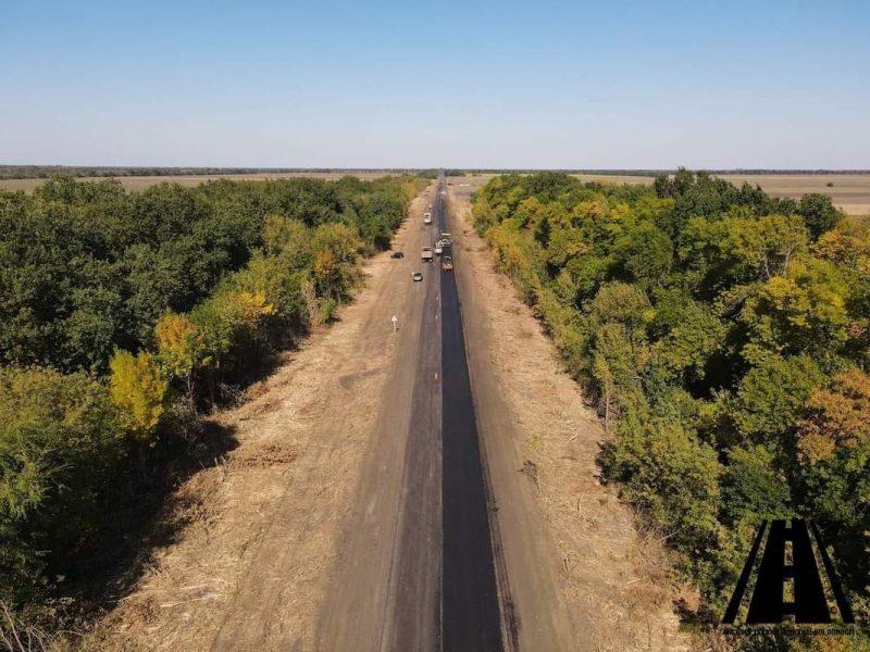 Как в Запорожской области ремонтируются дороги